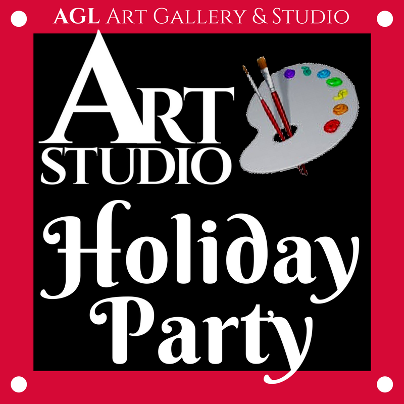 Art Studio Holiday Party Logo