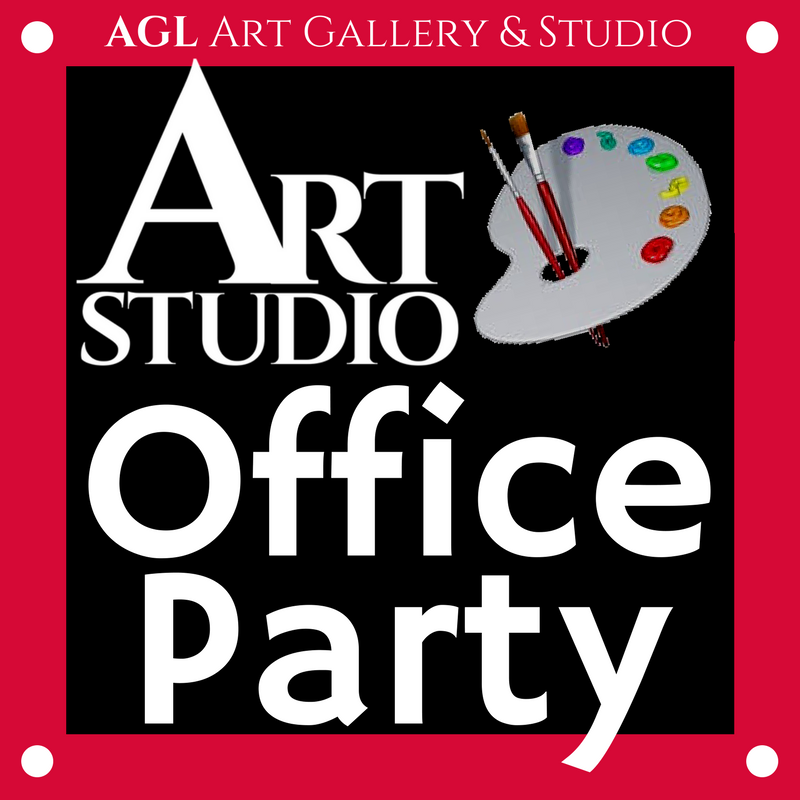 Art Studio Office Party Logo