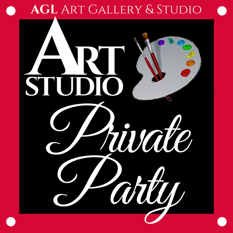 Art Studio Private Party Logo