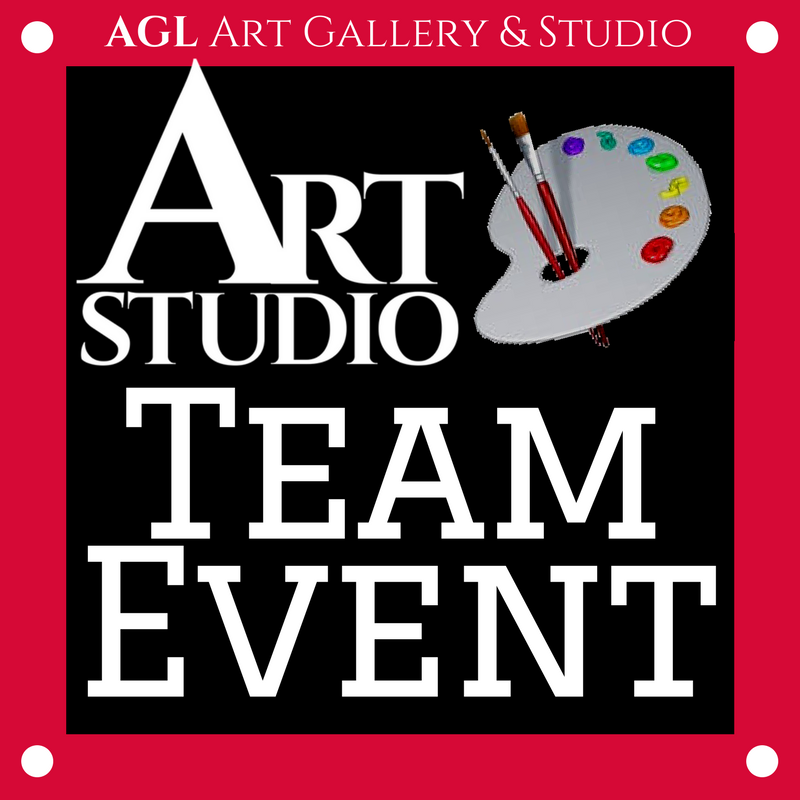 Art Studio Team Event Logo