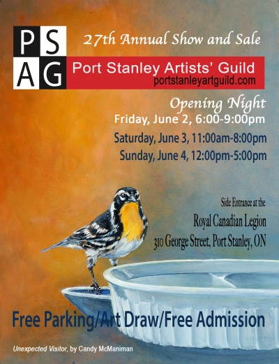Port Stanley Artist's Guild Annual Exhibition 2017